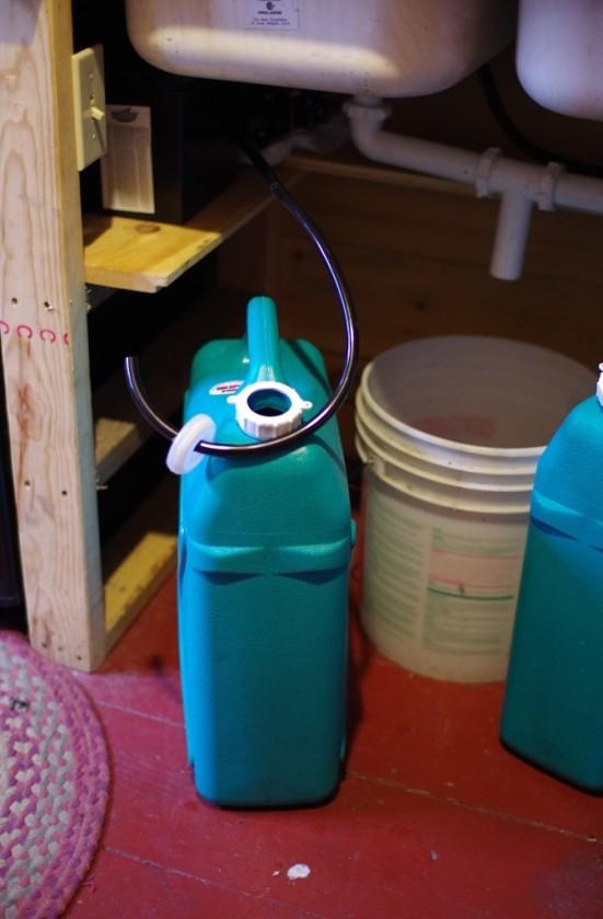 water jug pre-water tube