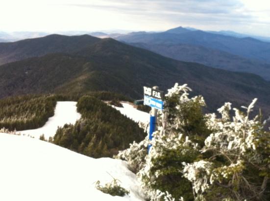 Summit of Lincoln Peak - Elev 3975